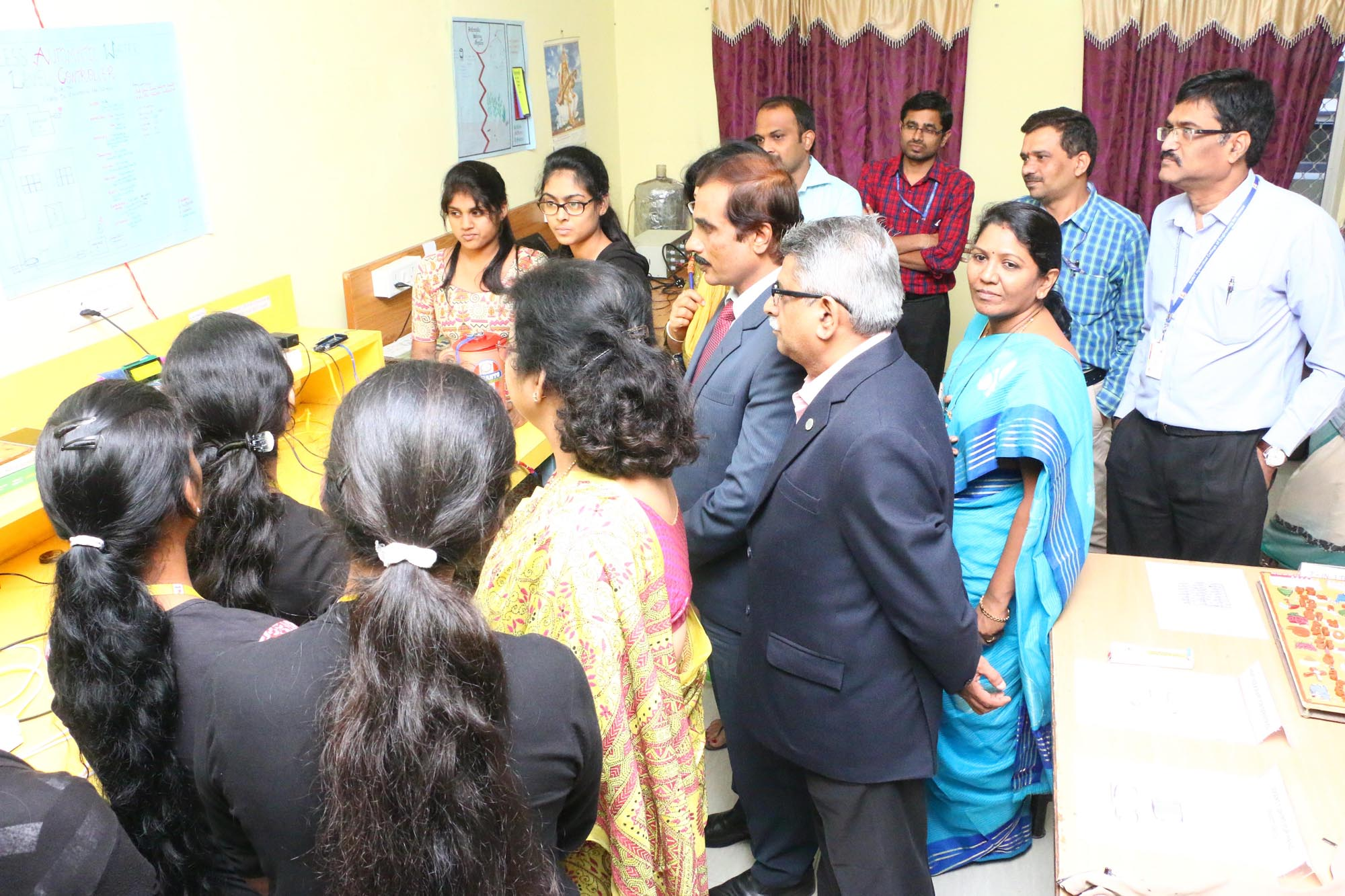 Interacting with Alumni Students