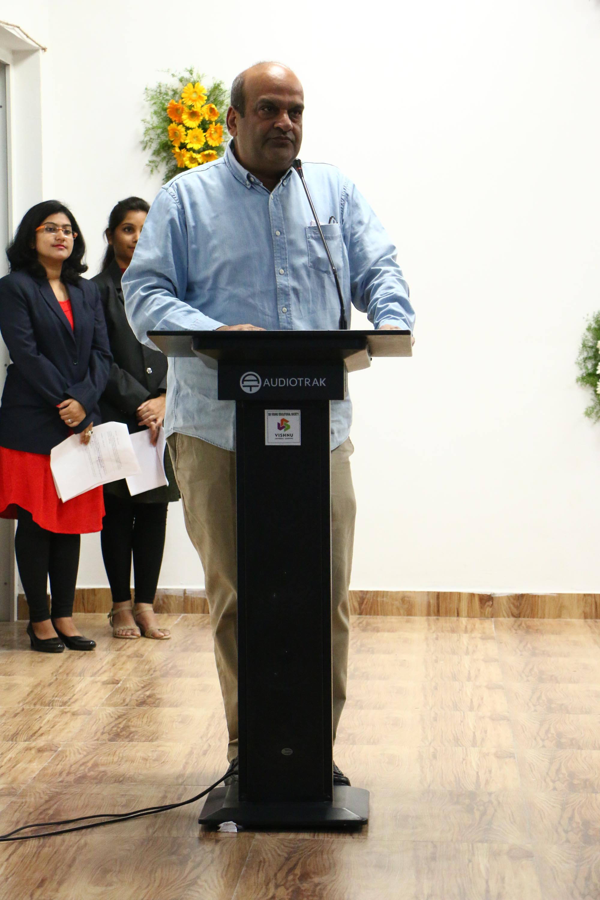 Chairman Sri Vishnu Raju garu Speech