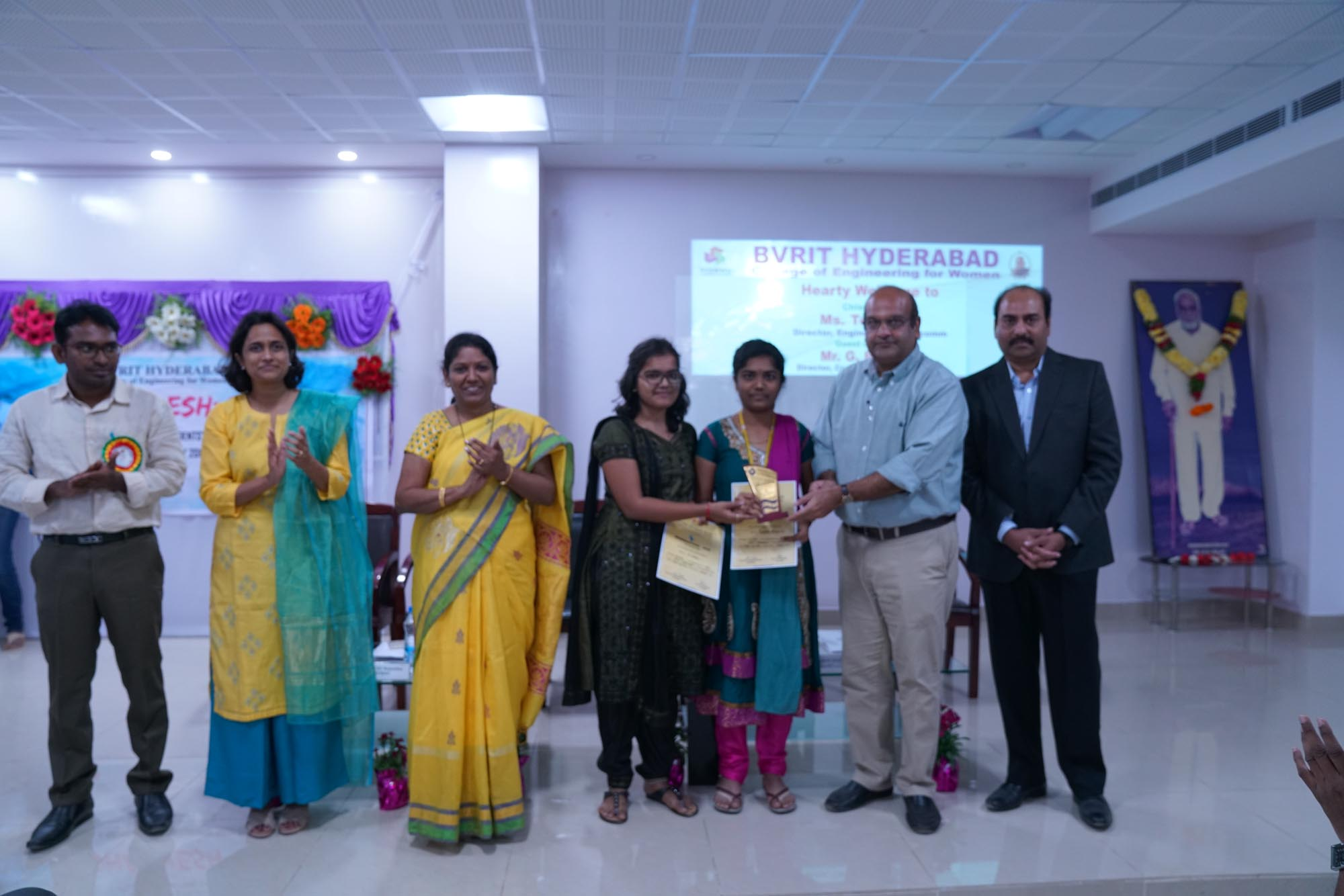 Prize Distribution to the Winners
