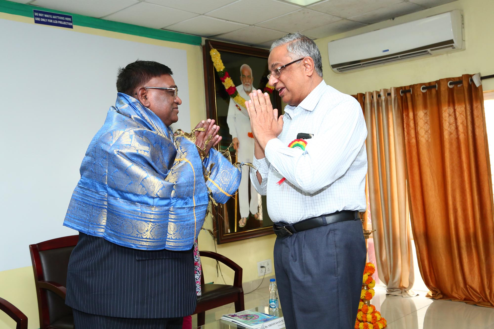 Felicitation to Chief Guest