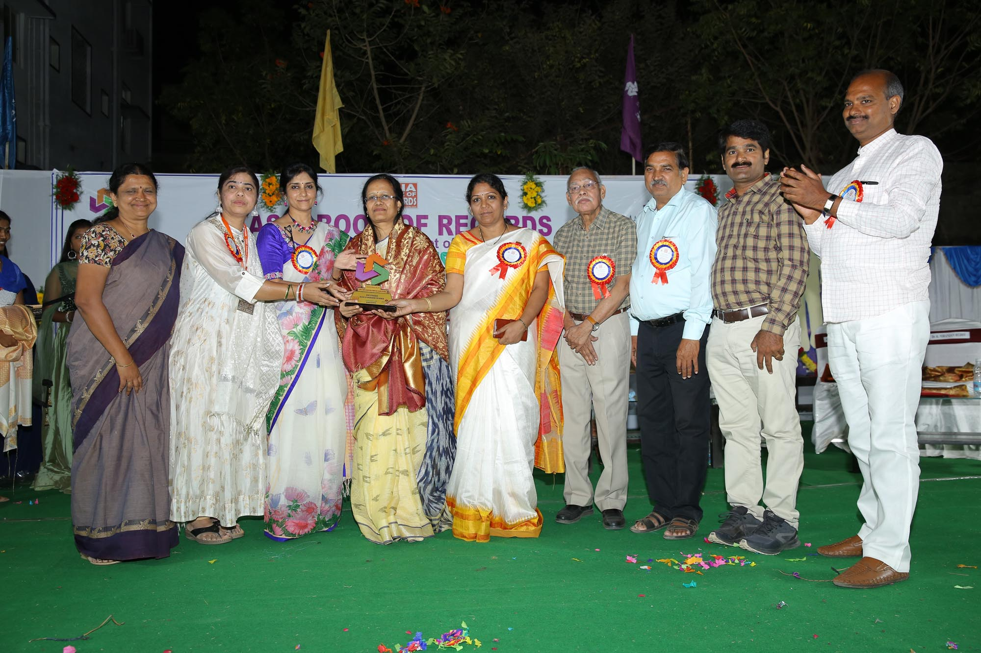 Felicitation to Chief Guest Dr Vasudha Rani
